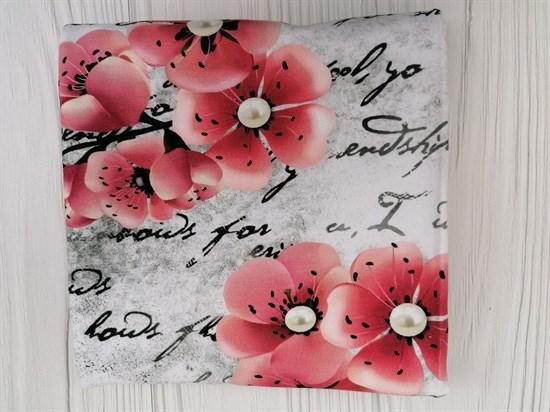 Футер Винтажные цветы - фото 10334