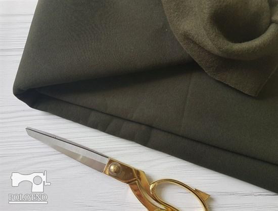 Футер 3 нитка с начесом, ХАКИ - фото 10418