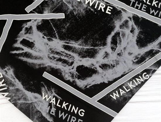 Футер 2х-нитка, THE WIRE черный - фото 10936