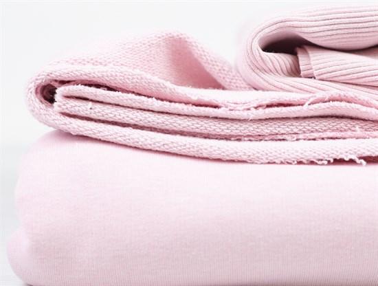 Футер 3х-нитка, Светло-розовый - фото 11183