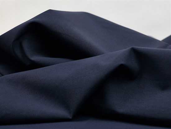 Тренч коттон, синий - фото 11706
