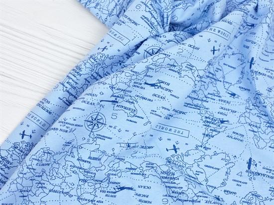 Кулирка 100% хб, Карта - фото 11880