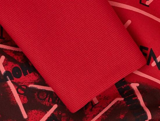 Кашкорсе плотное,Красный - фото 11975