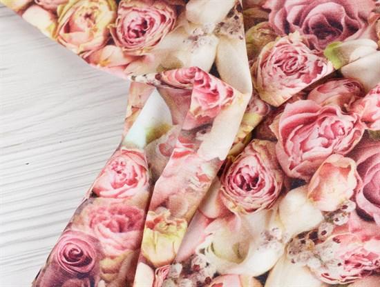 Кулирка розовые розы - фото 12047