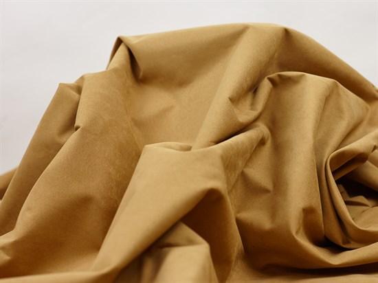 Курточная ткань с велюровым эффектом, Кэмел - фото 12476