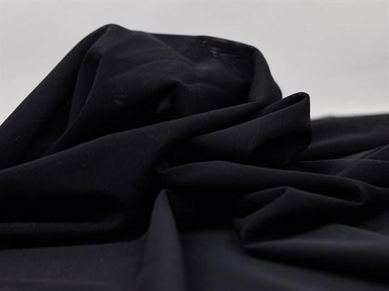 Стрейч сетка NUDE, черный - фото 12555