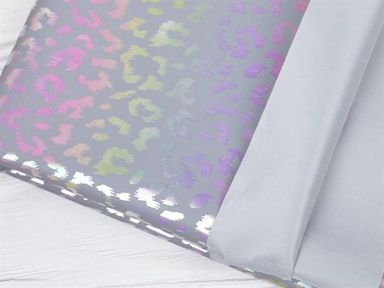 Светоотражающая плащевая ткань, леопард - фото 12698