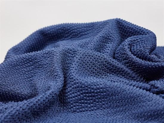 Бифлекс матовый жатка, индиго - фото 12763