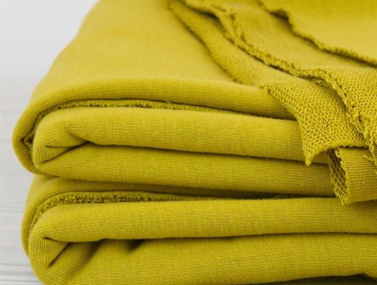 футер 3х нитка петля Желтый Карри - фото 12965