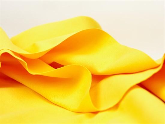 Деним с велюр эффектом, желтый - фото 13014