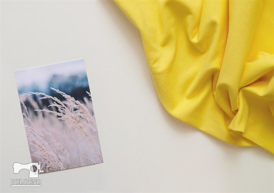 Желтый футер - фото 4521