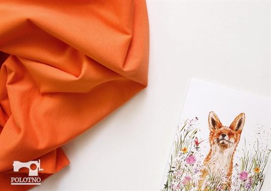 Оранжевый футер - фото 4569