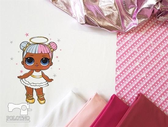 Купон куклы лол - футер (арт. 10001816) - фото 4840