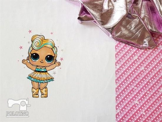Купон куклы лол - футер - фото 4844