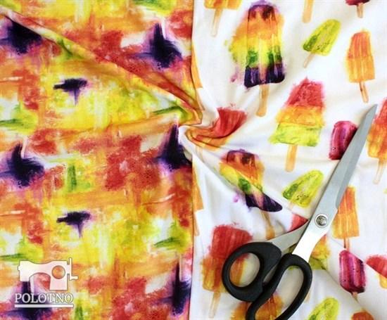 Цветная акварель - кулирка - фото 5265