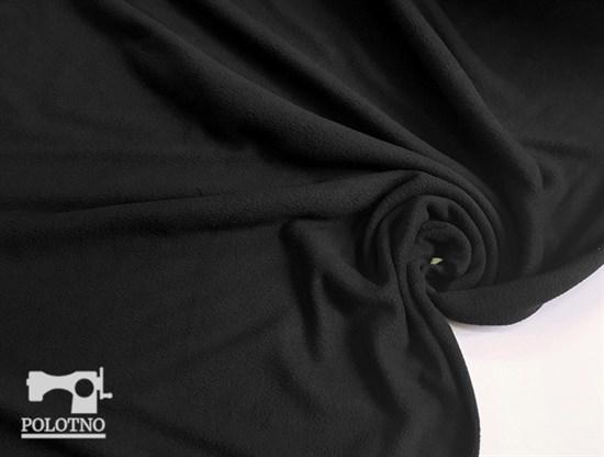 Флис антипилинг, черный - фото 5669