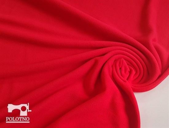 Флис антипилинг, красный - фото 5671
