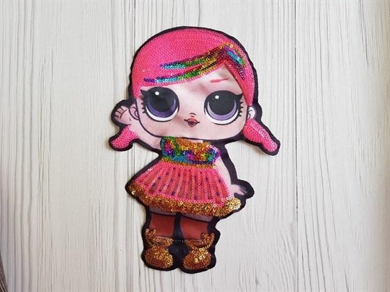 Термоаппликация, Кукла Лол - фото 5789