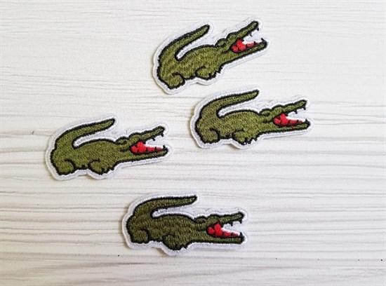 Термоаппликация, Крокодил - фото 5826