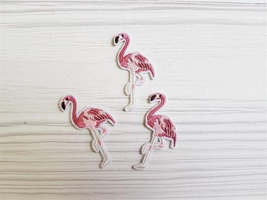 Термоаппликация, Фламинго - фото 5859