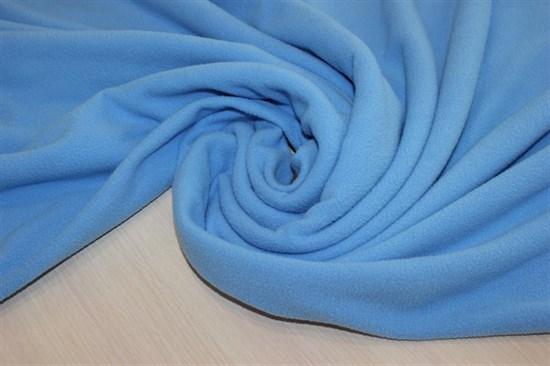 Флис антипилинг, голубой - фото 6344