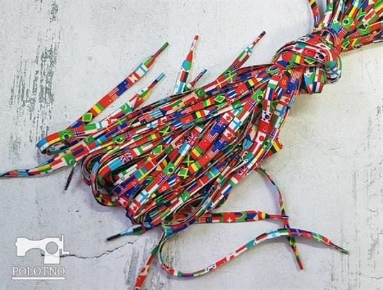 Шнурки с принтом, 120см (арт. 10002730) - фото 6675