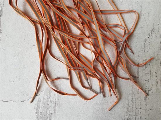 Шнурки светоотражающие, 120см (арт. 10002736) - фото 6687