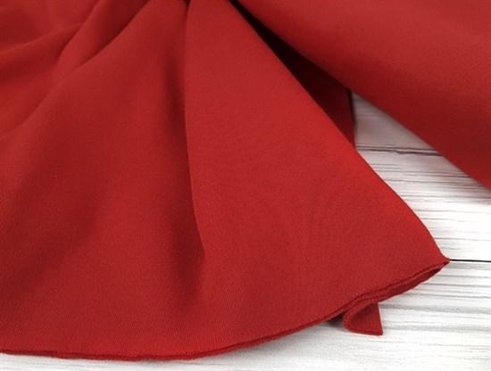 Интерлок однотонный, красный - фото 6700
