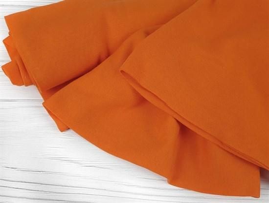 Интерлок однотонный, оранжевый - фото 6709