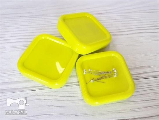 Магнитная игольница, желтый - фото 6844