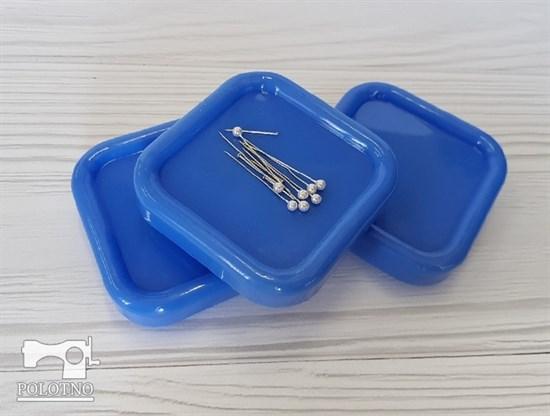 Магнитная игольница, голубой - фото 6846