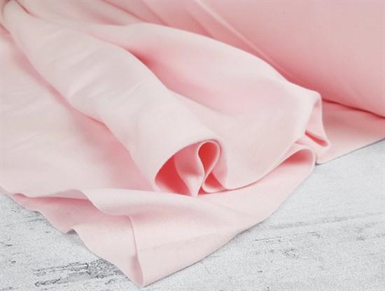 Интерлок однотонный, нежно-розовый - фото 7367