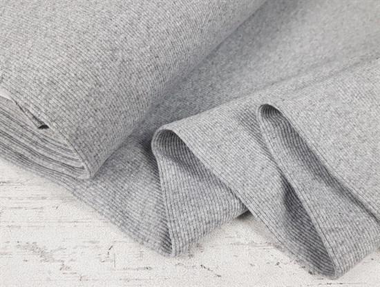Кашкорсе плотное, Серый меланж - фото 7388