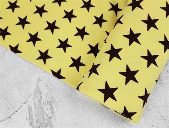 Рибана Звезды на светло-желтом - фото 7452
