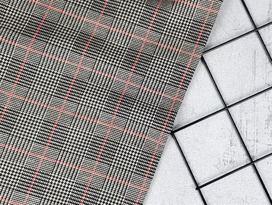 Футер 2х-нитка, Клетка - фото 7503