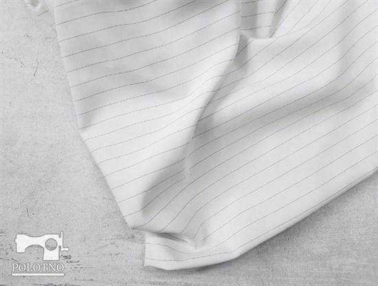 Костюмно-плательная ткань, ОРЛАНДО стрейч, цвет - БЕЛЫЙ - фото 7913