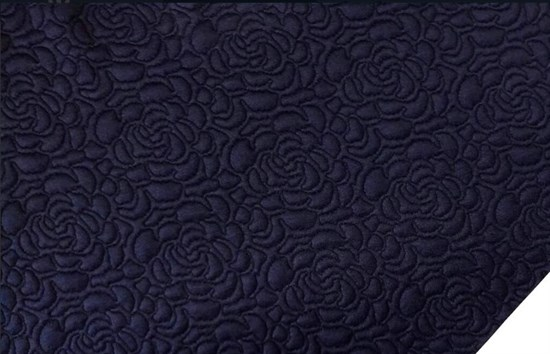 Капитоний  Розочки на темно-синем - фото 7995