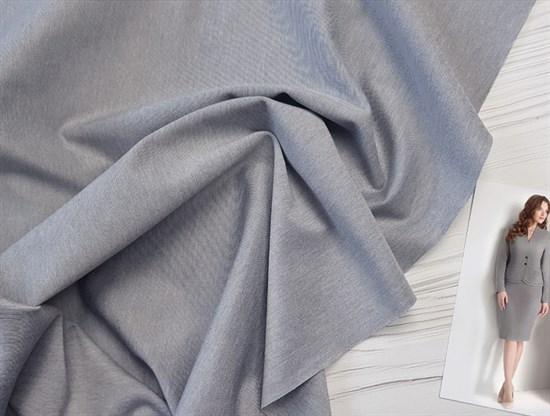 Джерси антипилинг Светло-серый меланж - фото 8133