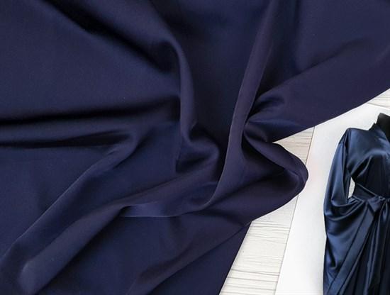 Шелк Армани, Темно-синий - фото 8503