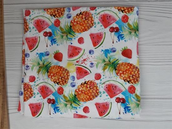 Кулирка с лайкрой  - фруктовое ассорти - фото 9034