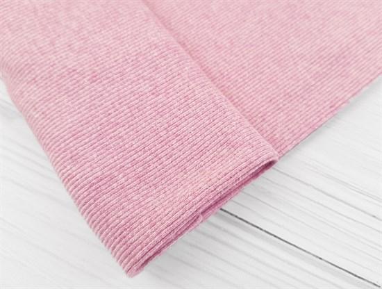 Кашкорсе плотное, розовый меланж - фото 9341