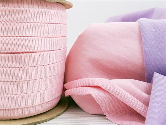 Шнур 1,2см - Светло-розовый - фото 9814