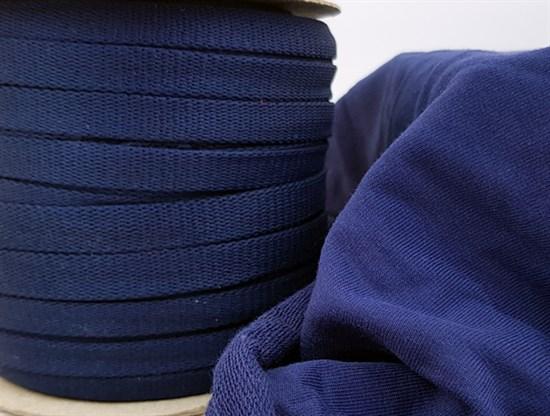Шнур 1,2см - Синий - фото 9830