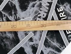 Футер 2х-нитка, THE WIRE черный - фото 10937