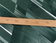Футер 2х-нитка, полоски горизонт зеленая,черная,белая - фото 10950