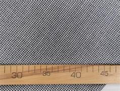 Костюмная ткань FANCY, мелкая лапка синяя с люрексом - фото 10958