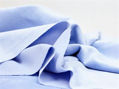 Вельвет мелкий рубчик, голубой - фото 11760
