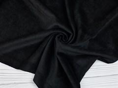 Вельвет мелкий рубчик, черный - фото 11763