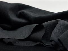 Вельвет мелкий рубчик, черный - фото 11764