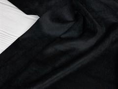 Вельвет мелкий рубчик, черный - фото 11765